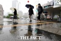 [TF사진관] '도심 적시는 5월의 비'