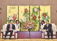 이재용 삼성 부회장, 중국 산시성 당서기 면담…협력 방안 논의