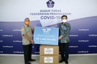 [코로나19 '극복'] 우리은행, 인도네시아에 코로나19 방호복 5000벌 기부