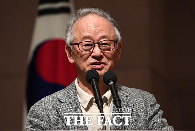 이부영 자유언론실천재단 이사장