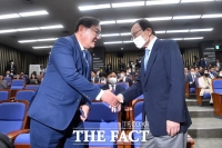 [TF사진관] '20대 국회 마지막 의총' 참석한 이해찬