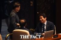 [TF포토] 대화 나누는 박병석-김상희-이인영