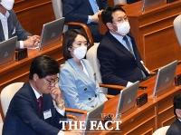 [TF포토] 본회의장 견학하는 고민정 당선인