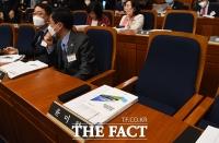 [TF포토] 초선의원 의정연찬회 불참한 윤미향