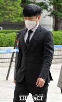 [TF포토] 법정 향하는 故 구하라 친오빠 구호인 씨