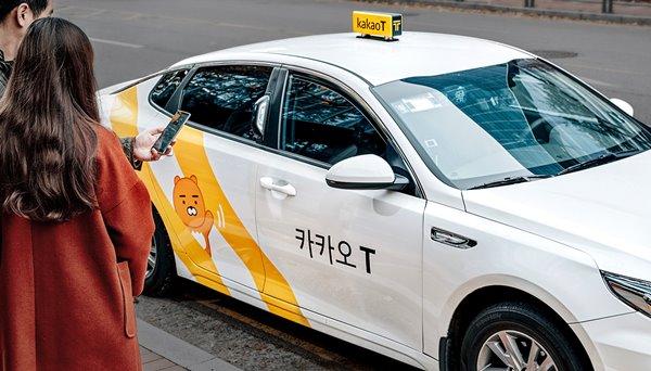 택시업계가 카카오모빌리티의 가맹택시 콜 몰아주기로 인해 비가맹 택시들이 차별을 받는다고 주장하고 있다. /카카오모빌리티 홈페이지 갈무리