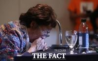 [TF사진관] 이용수 할머니, '의혹 검찰 수사로 밝혀야... 윤미향 사퇴는 말할 입장 아니다'