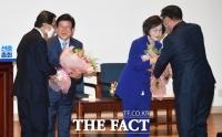 [TF포토] 민주당, 국회의장 후보에 박병석 선출