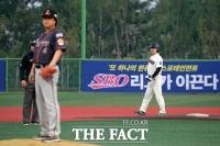 [TF포토] 연예인 야구대회, 'SBO리그가 이끈다'