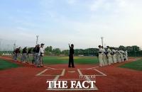 [TF사진관] '제14회 연예인 야구대회' 개막전, '라바vs인터미션'