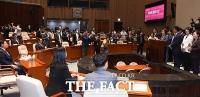 [TF사진관] 통합당-한국당 합당 후 첫 만남, '함께 21대 국회 이끌어요!'