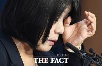 [TF사진관] 윤미향, 각종 의혹 모두 부인...'땀 나는 기자회견'