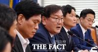 [TF포토] 21대 국회 출범 기자회견 갖는 김태년 원내대표
