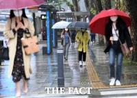 [오늘의 날씨] '우산 챙기세요' 중부지방 5~20mm 비
