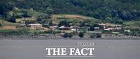 [TF포토] 고요한 북녘 마을
