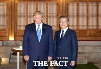 文대통령, 트럼프와 G7 확대 논의…회의 초청에도