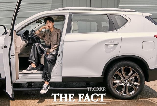 임영웅 모델 발탁 이후 G4 렉스턴은 5월 판매량 기준 1089대가 팔리며 전월 대비 61%의 증가율을 기록했다. /쌍용차 제공