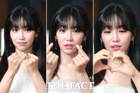 [TF사진관] 이유리, '청순 여신의 하트 퍼레이드~'