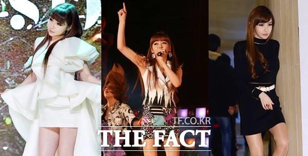 박봄은 2009년 2NE1으로 데뷔해 산다라박, CL, 공민지와 함께 수많은 히트곡을 남기며 활발한 활동을 이어가다 지난 2017년 공식 해체를 선언했다. 사진은 박봄이 2NE1으로 활동했던 모습. /더팩트 DB