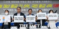 [TF사진관] 경실련, '21대 국회의원들의 투명한 재산공개를 요구한다!'