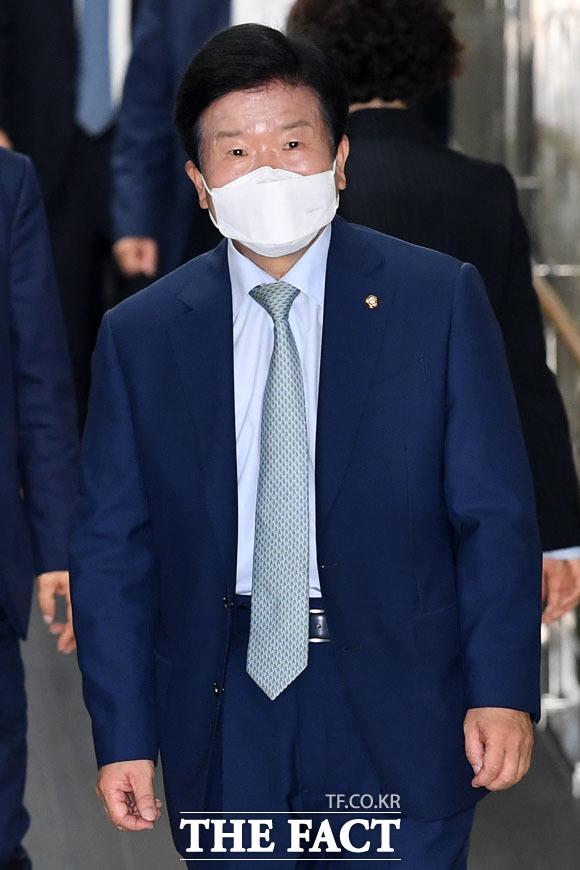 21대 상반기 국회의장 앞두고 있는 박병석 의원
