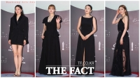 [TF사진관] '패션의 완성은 블랙'..시크한 매력 뽐내는 여배우들