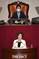 [TF사진관] 헌정사 최초 여성 국회부의장된 김상희