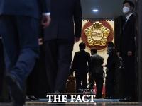 [TF사진관] 우여곡절 끝에 개의된 '제21대 국회 첫 본회의'
