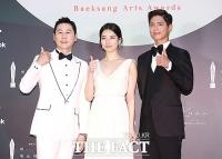 [TF포토] 신동엽-수지-박보검, '백상예술대상 기대하세요!'