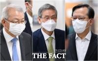 [TF사진관] 사법농단 재판 출석한 양승태-고영한-박병대