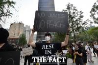 [TF사진관] 한국도 조지 플로이드 추모…'인종차별을 멈추어야 할 때'