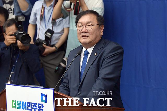 모두발언하는 김 원내대표