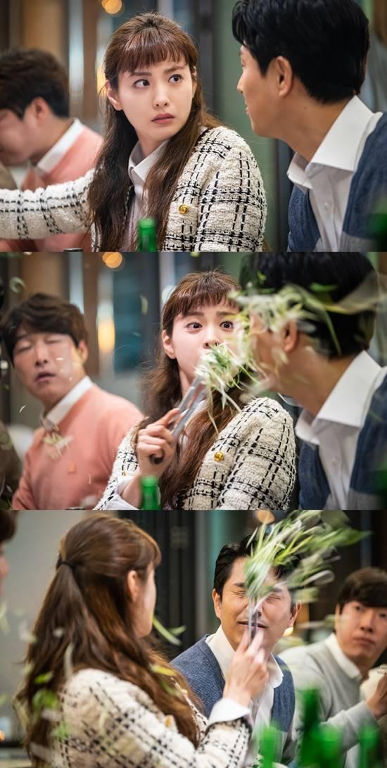 배우 나나가 코믹 정치 오피스 드라마 출사표에서 사이다 캐릭터로 분하는 모습이 티저로 공개돼 드라마에 대한 호기심을 자극했다. /KBS2TV 출사표 티저