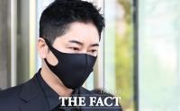 [TF사진관] '성폭행 혐의' 강지환, 항소심서도 징역형 집행유예