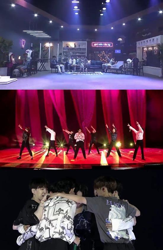방탄소년단이 14일 커뮤니티 플랫폼 위버스를 통해 온라인 실시간 공연 방방콘 The Live를 진행했다. 최대 동시 접속자 75만 명이 이번 공연을 함께 즐겼다. /빅히트엔터 제공