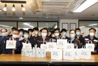 김이배 제주항공 대표 정비본부 방문