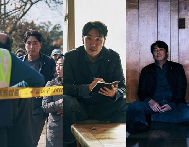 조진웅은 영화 독전 끝까지 간다, tvN 드라마 시그널에 이은 네 번째 형사 역할에 이제는 도가 텄다. /사라진 시간 스틸컷