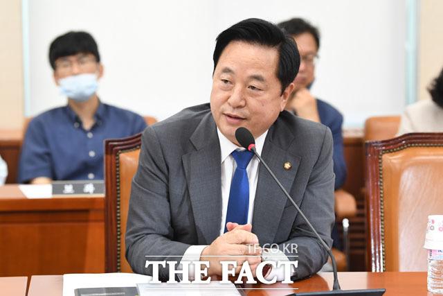 인사말 하는 김두관 의원