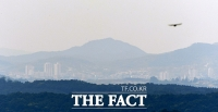 [TF사진관] '안갯속 남북관계'…뿌옇게 보이는 개성공단