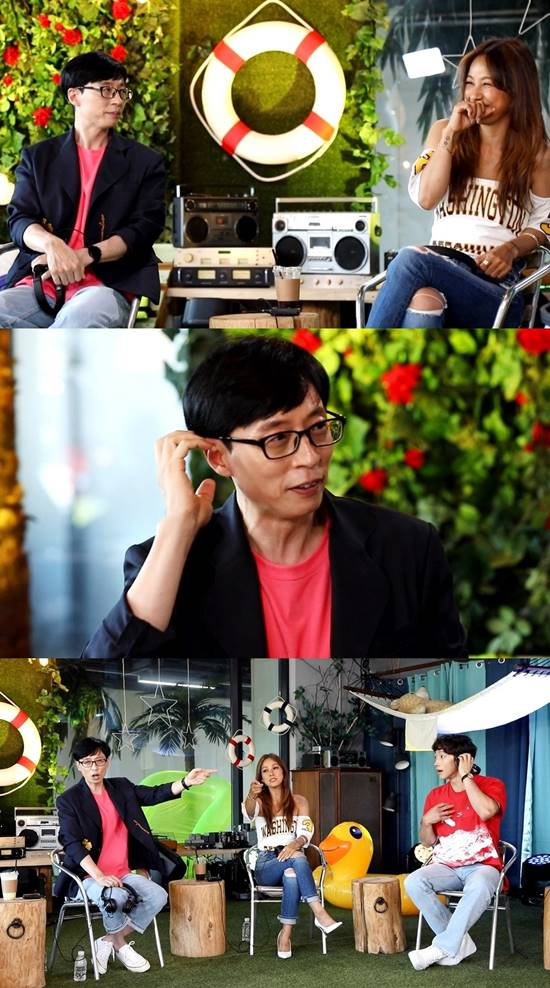 싹쓰리 멤버들이 뮤지, 코드쿤스트, 이현승 작곡가와 함께 작업한 곡도 공개될 예정이라 기대감을 높이고 있다. /MBC 놀면 뭐하니? 제공