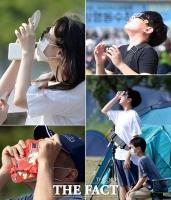 [TF사진관] '셀로판지·CD·과자봉지까지…' 나만의 부분일식 관찰법