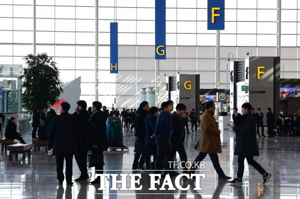 인천국제공항공사 보안검색 노동자 정규직 전환에 대한 논란이 가중되고 있다. 인천국제공항 모습. /더팩트 DB
