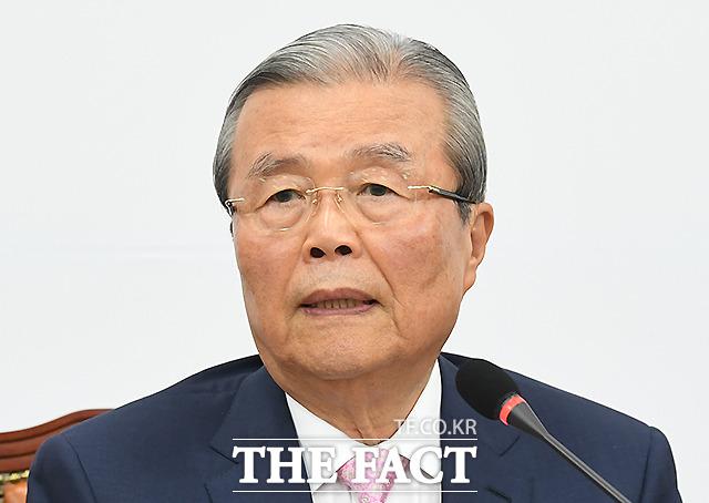 김종인 미래통합당 비상대책위원장은 민주당을 겨냥해 최근 법사위에서 진행되는 행태를 보면 과연 대한민국이 민주주의를 국가 원칙으로 삼으려는 하는 나라인가 의심하게 된다라고 비판했다. /이새롬 기자