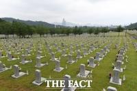 [TF포토] '한국전쟁 70주년, 적막한 현충원'