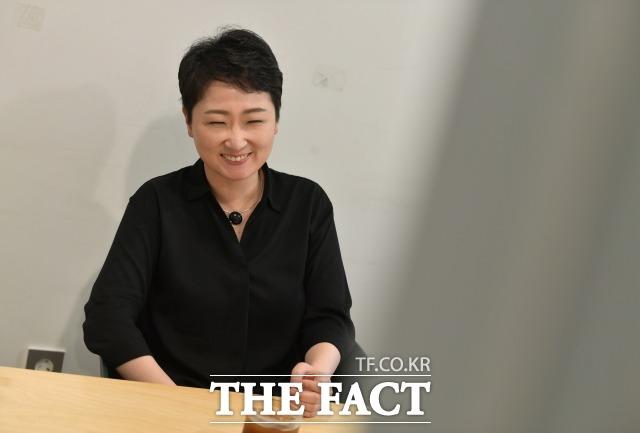 이 전 의원은 한국 보수의 정신이 무엇인지 돌아볼 필요가 있다며 향후 계획을 설명했다. /이덕인 기자