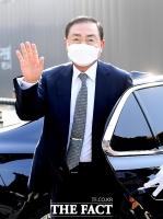 [TF포토] 아모레 장녀 약혼식 참석한 홍석규 보광 회장