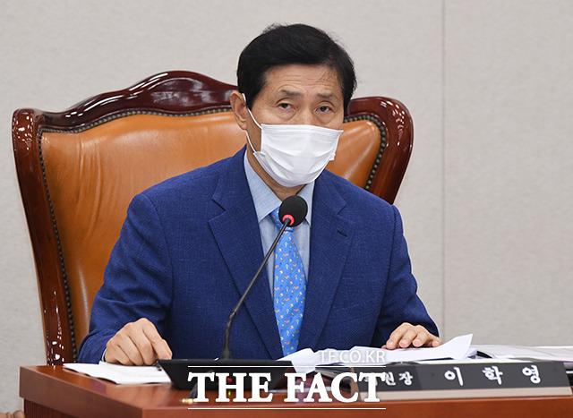 이학영 산업통상자원중소벤처기업위원회 위원장.