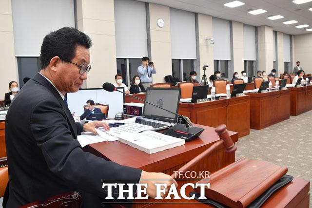유기홍 국회 교육위원장.