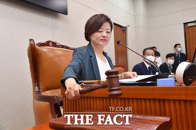진선미 국회 국토교통위원장.