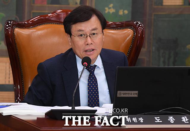도종환 문화체육관광위원회 위원장.